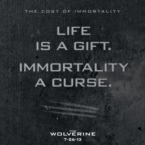New The Wolverine poster
