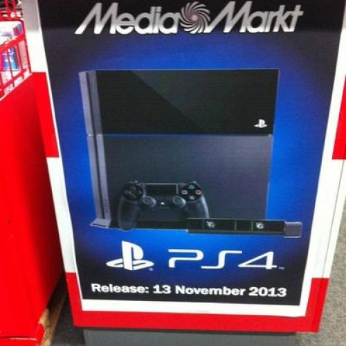 Sony's PlayStation 4 launch date revealed by accident?