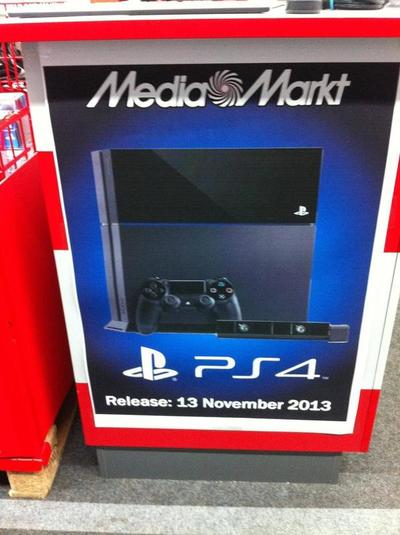 Sony's PlayStation 4 launch date revealed by accident