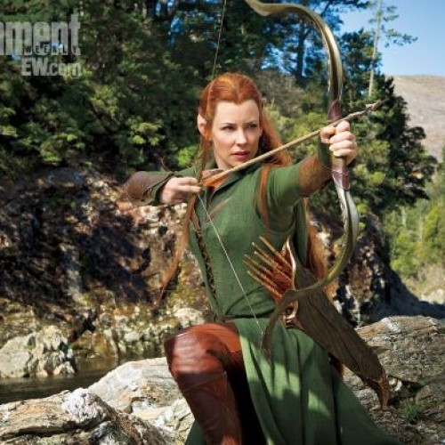 The Hobbit: New image of Evangeline Lilly as elf Tauriel