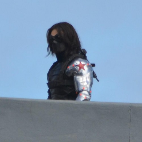 Pics of Winter Soldier's bionic arm!