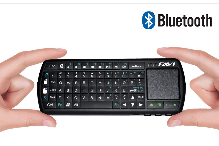 Favi Bluetooth Wireless Keyboard W Touchpad Mouse Review