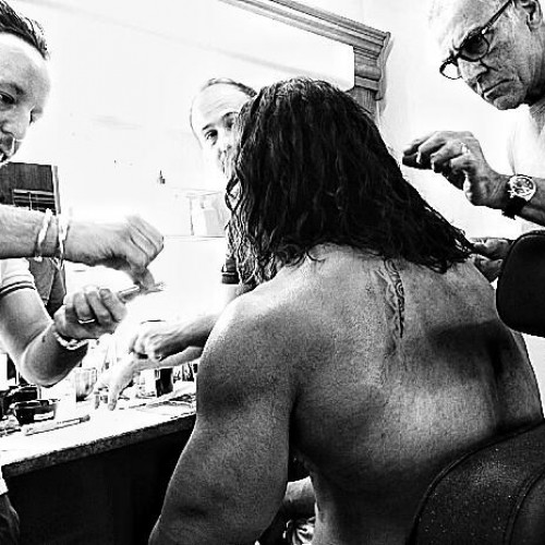 First photo from the set of Hercules