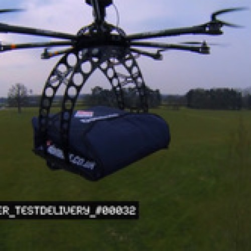 Domino's 'DomiCopter': Pizza by drone