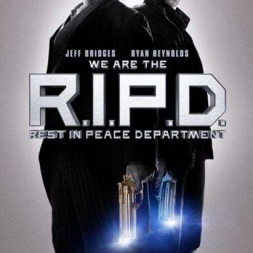 R.I.P.D. banner and trailer