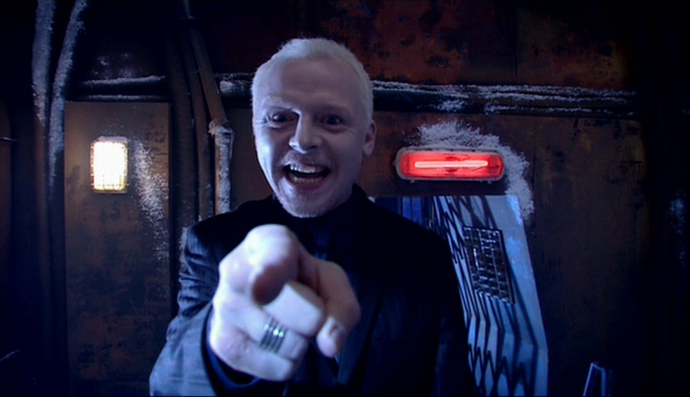 simon pegg Doctor Who