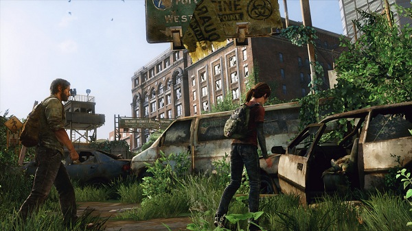 the last of us ruined city