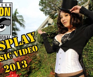 aggressive comix cosplay music video sdcc