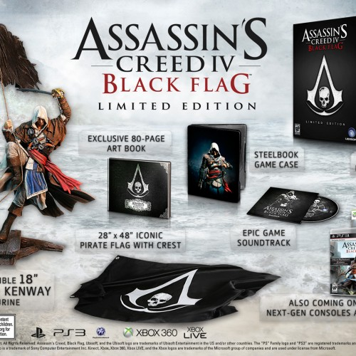 Assassin's Creed IV Black Flag gets a limited edition and pirate's life trailer