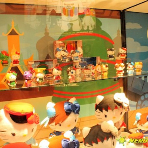 New challengers appear with the Hello Kitty x Street Fighter line up San Diego Comic-Con