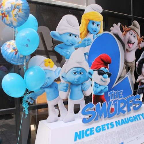 The Smurfs 2 fan event