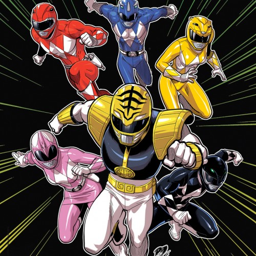 The original Power Rangers (US version) are back in a brand new graphic novel