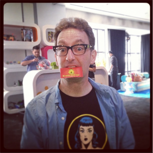 SDCC 2013: Interview with SpongeBob SquarePants voice actor Tom Kenny!