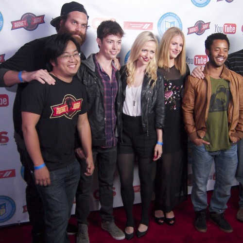 Video Game High School Season 2 Premiere Party video and photos