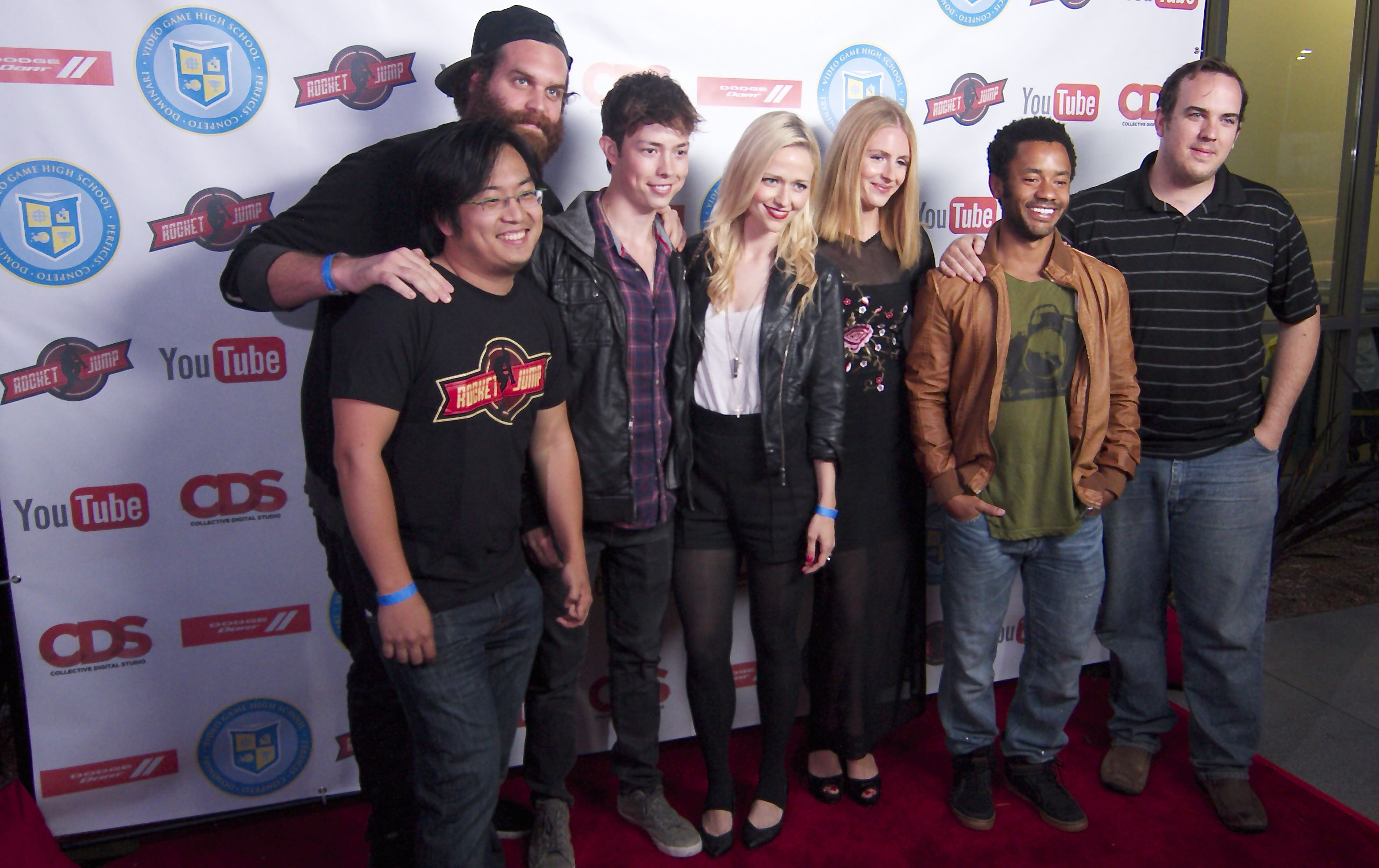 video game high school season 2 premiere party video and