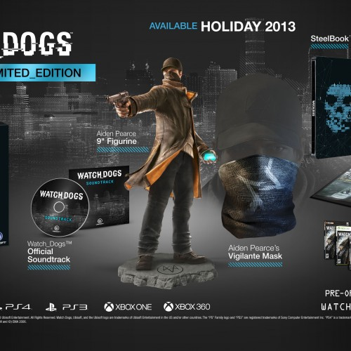 Watch Dogs Limited Edition Pack revealed