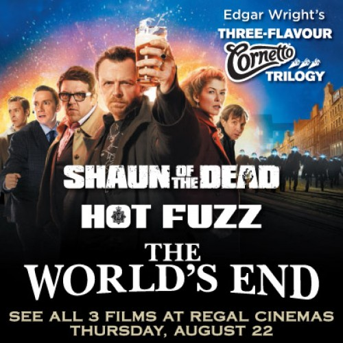 Watch the Three-Flavours Cornetto Trilogy in one day!