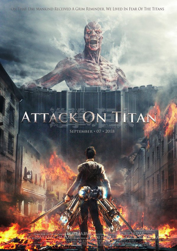 Attack On Titan became a phenomenon in the anime and manga world. Any ... Pacific Rim 2013 Dvd Cover