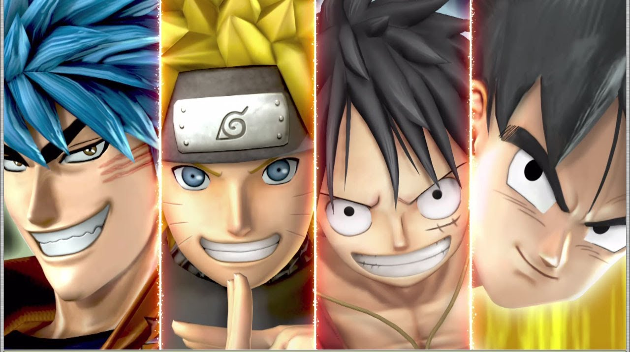 Naruto One Piece Dragonball. J Stars Victory Vs ...