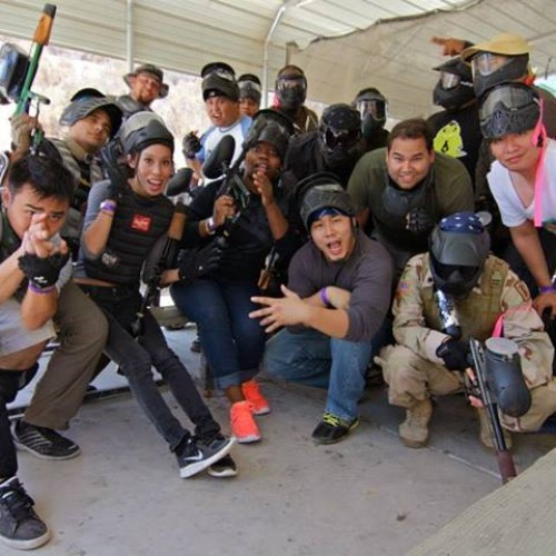Nerd Reactor does paintballing and GoPro at Jungle Island