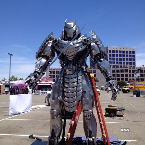 The Wolverine's Silver Samurai spotted at San Diego Comic-Con