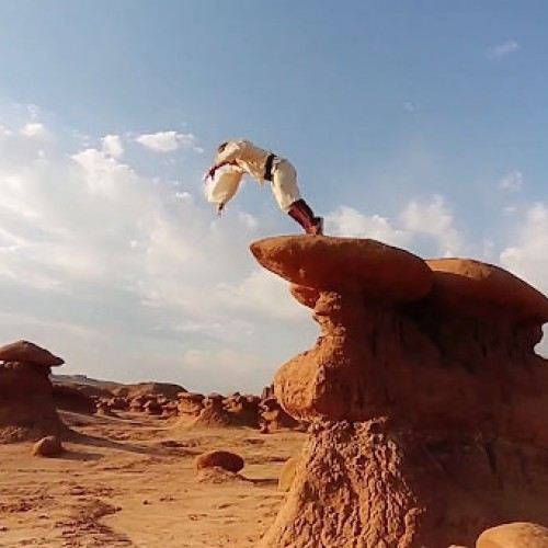 The parkour Force is strong with this Star Wars-inspired video