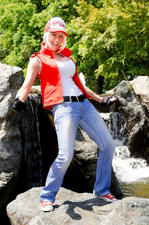 This Is One Hot Terry Bogard Cosplay From King Of Fighters