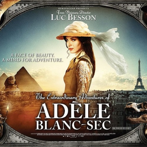 The Extraordinary Adventures of Adèle Blanc-Sec Blu-ray Review