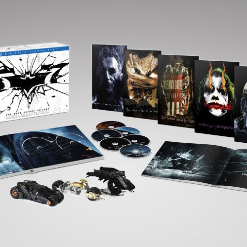 The Dark Knight Trilogy gets the Ultimate Collector's Edition