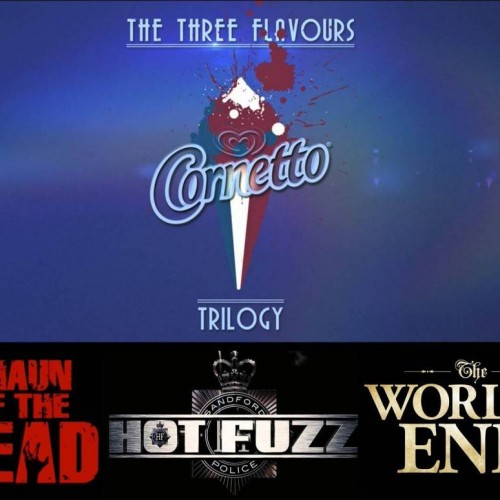 Want updates on the Three Flavours Cornetto Trilogy? Follow them on tumblr!