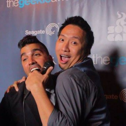 The Geekie Awards red carpet with NR