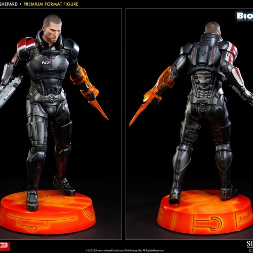 Mass Effect's Commander Shepard gets a premium Sideshow figure
