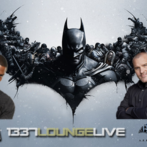 Troy Baker and Roger Craig Smith join 1337 Lounge Live tonight for Batman: Arkham Origins