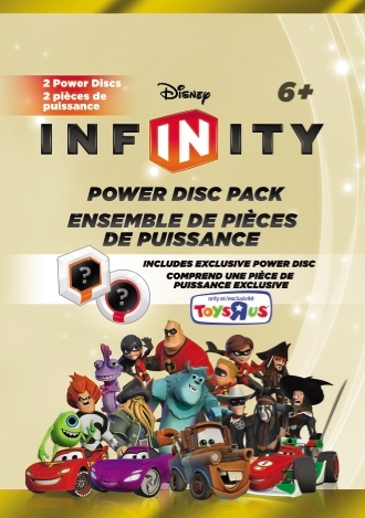 Exclusive Power Disc Packaging
