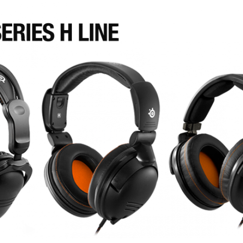 Steelseries H-Series Headsets: Yes, you DO want them