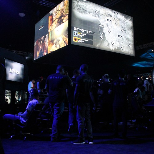 Call of Duty: Ghosts Multiplayer reveal event presented by Xbox