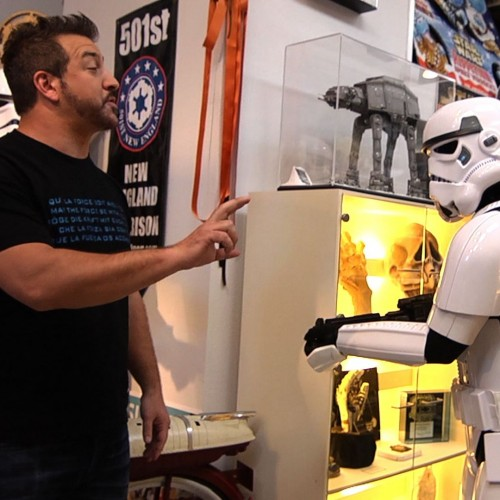 Former 'N Sync's Joey Fatone geeks it up with Star Wars-themed episode tonight