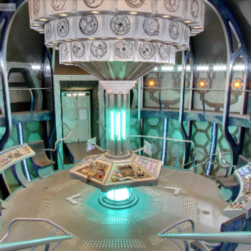 Doctor Who: Look inside the TARDIS through Google Maps!