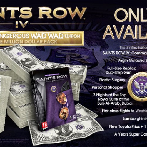 Saints Row IV's $1 Million Edition…yep!