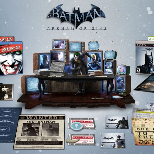 Batman: Arkham Origins Collector's Edition comes with Joker statue and more