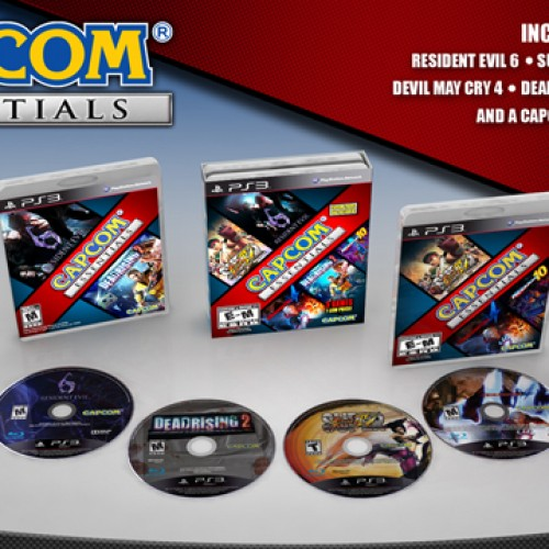 Capcom Essentials Bundle includes 5 Games for the $59.99