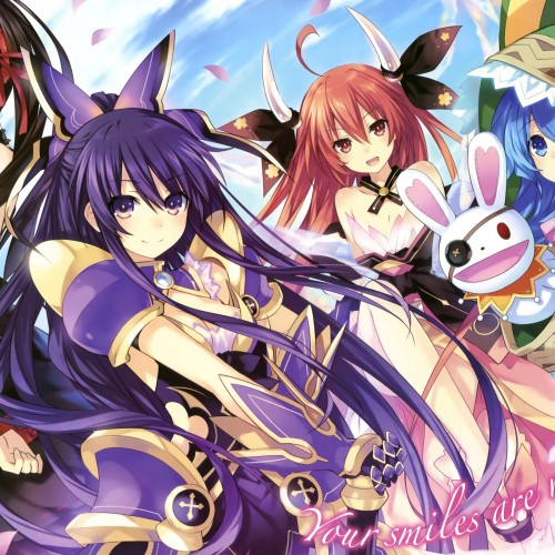 A possible Date A Live game on mobile devices