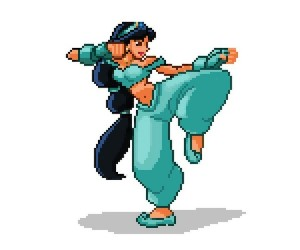 disney street fighter jasmine