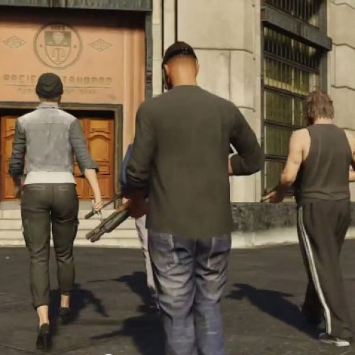 See the Grand Theft Auto Online multiplayer trailer