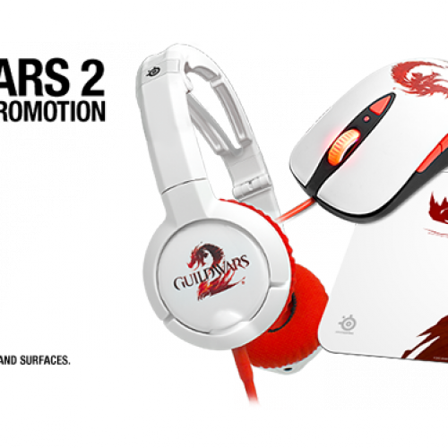 Nerdy Deal of The Day: Steelseries Guild Wars 2 headset, mouse and mousepads 50% off