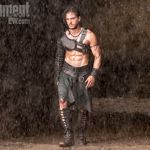 The Bastard of the North, Kit Harington, gets in shape for Paul W.S. Anderson's 'Pompeii'