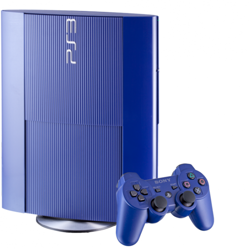 Azurite Blue PlayStation 3 coming October 8th