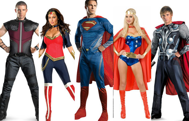 Giveaway: Superhero Costumes from MrCostumes.com  Nerd Reactor