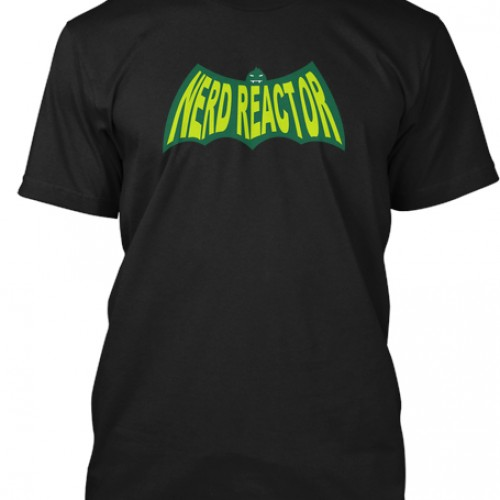 To the crowdfunding-mobile! Limited edition Nerd Reactor T-shirt