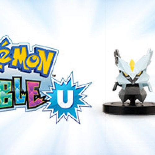 Special Pokemon Rumble U NFC Black Kyurem and White Kyurem Figure at GameStop